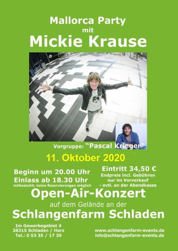 Events 2020 Mickie Krause