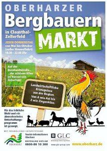 Plakat Bergbauernmarkt