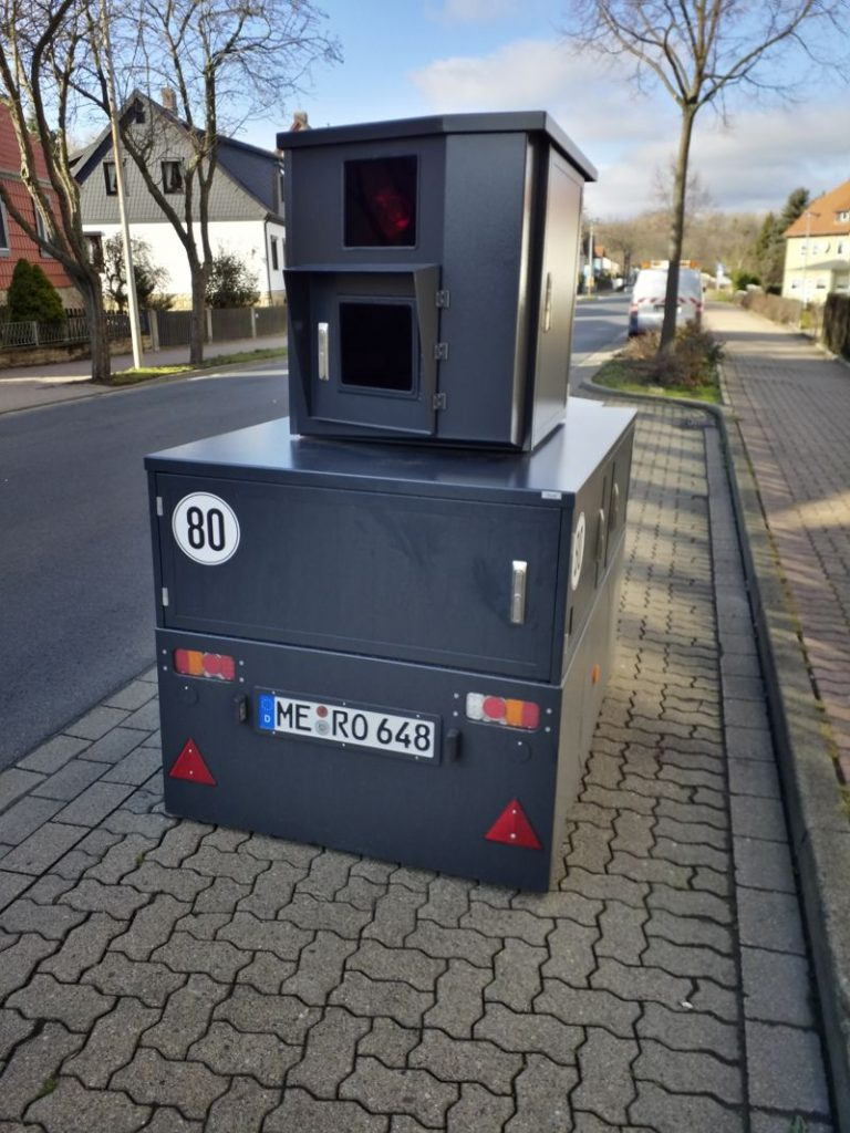 Landkreises Goslar Tempokontrollen - Messstellen