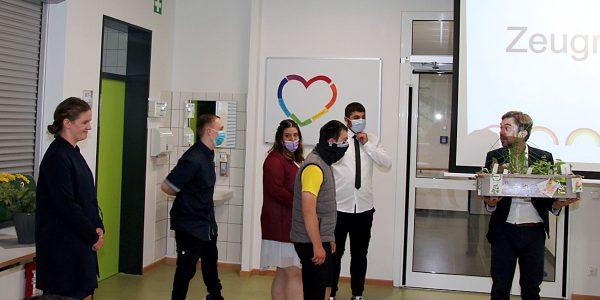 Entlassungsfeier der Schule am Harly