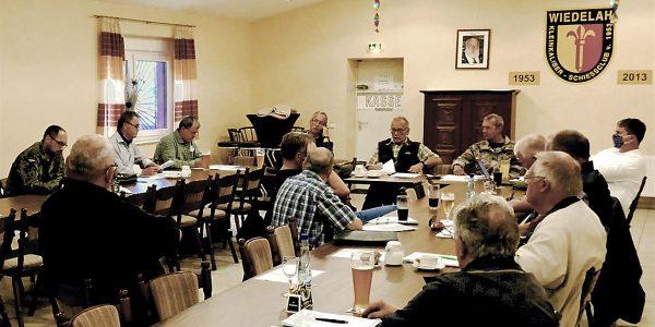 Der erweiterte Vorstand Reservisten Kreisgruppe Harz