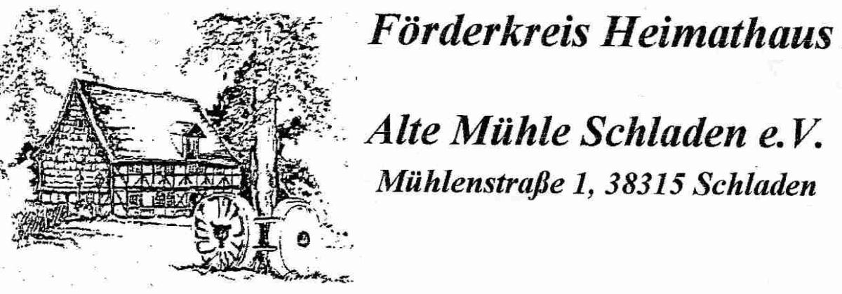 Heimathaus Alte Mühle Schladen Winterabend