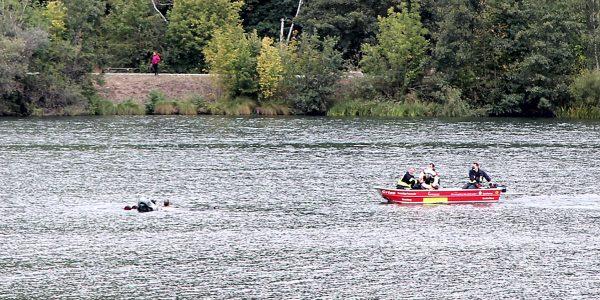 Rettung auf dem Vienenburger See