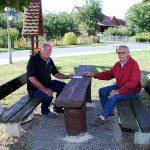 Sitzbank und Tisch für Immenrode