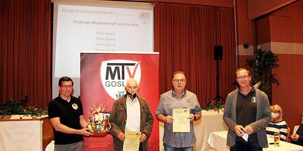 Mitgliederversammlung des MTV Goslar