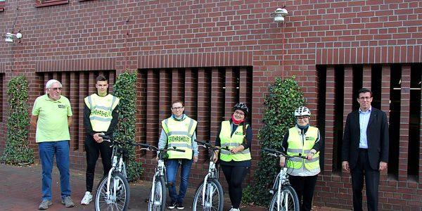 Fahrräder für die Verkehrswacht