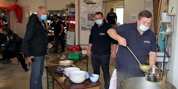 Suppentag bei der Feuerwehr