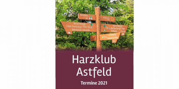 Titel Broschüre Harzklub Astfeld 2021 web