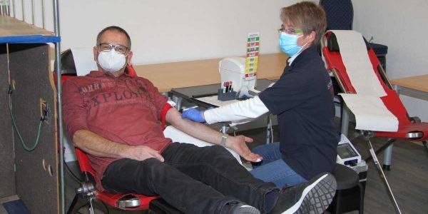 Blutspenden in Hahausen