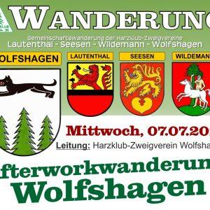 Wanderung Harzklub Wolfshagen