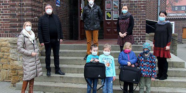 Spendenübergabe Grundschule Oker