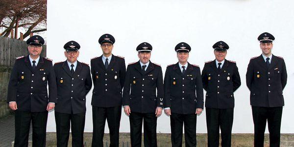 Ernennung der Führungsspitze der FFw Neuenkirchen