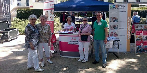SoVD Bad Harzburg - Infostand auf dem Kastanienblütenfest 2018