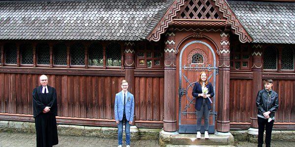 Konfirmation in der Stabkirche Hahnenklee