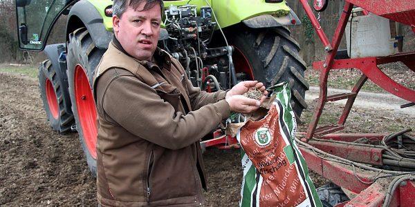 Landwirte sorgen für bunte Felder