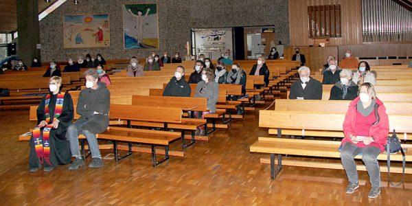 Gottesdeisnt zur Verabschiedung von Pfarrerin Dagmar Reumke