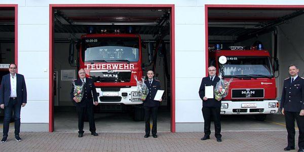 Feuerwehr Lautenthal: Ernennungen und Verabschiedung