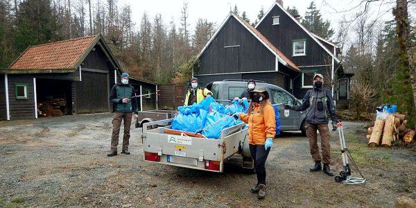 CITO 2021 - Müllsammelaktion der Geocacher im Nationalpark Harz