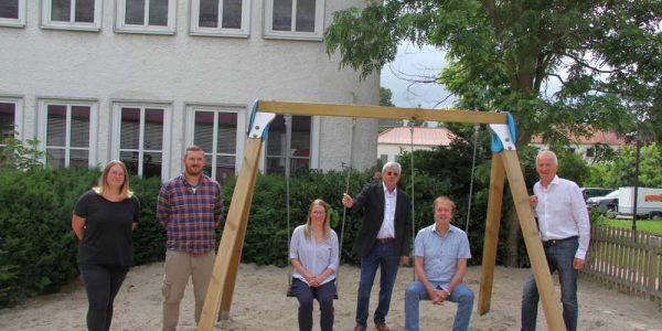 (v.li.): Jacqueline Fricke, Marcel Keck, Christiane Keck, Hans-Jürgen Rappmann, Volker Bäcker und Roland Pabst.