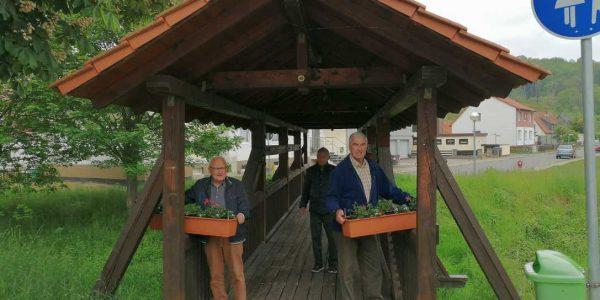 (v.li.): Bodo Friedrichs, Erwin Knoop und Hans- Joachim Michaelis