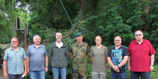 (v.li.); Harald Nielebock, Frank Lazar, Jens Kind, Michael Gandt, Volker Hoyer, Frank Peinemann, Rolf Siewers.