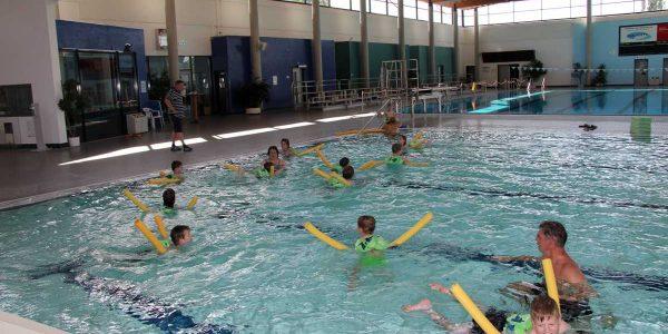 Schwimmkurs für Kinder startete