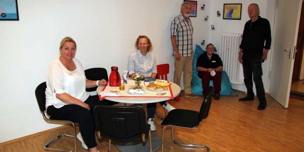 (v.li.): Alexandra Gröger, Olivia Klimont, Eckhard Wagner, Tjorven Maack und Axel Dietsch.