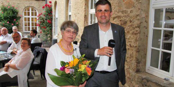 Barbara Reichert und ihr Nachfolger Dr. Oliver Pramann