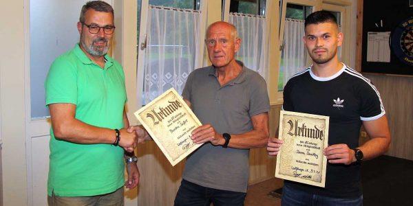 (v.li): Thorsten Seifert, Rolf Nolte und Steven Feiertag.