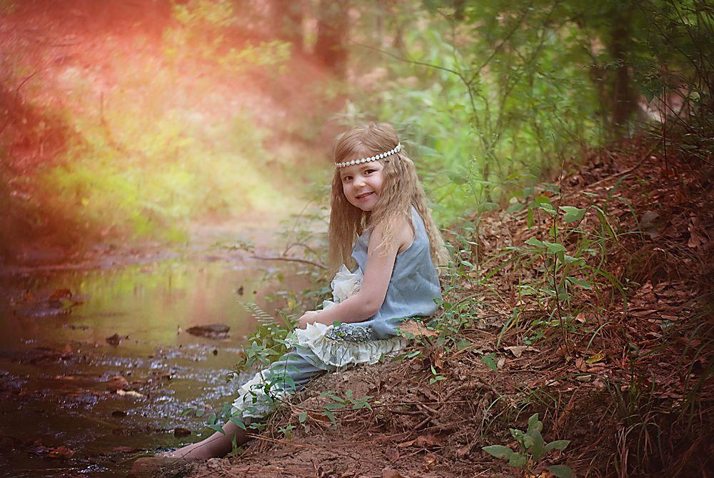Waldbaden Kind