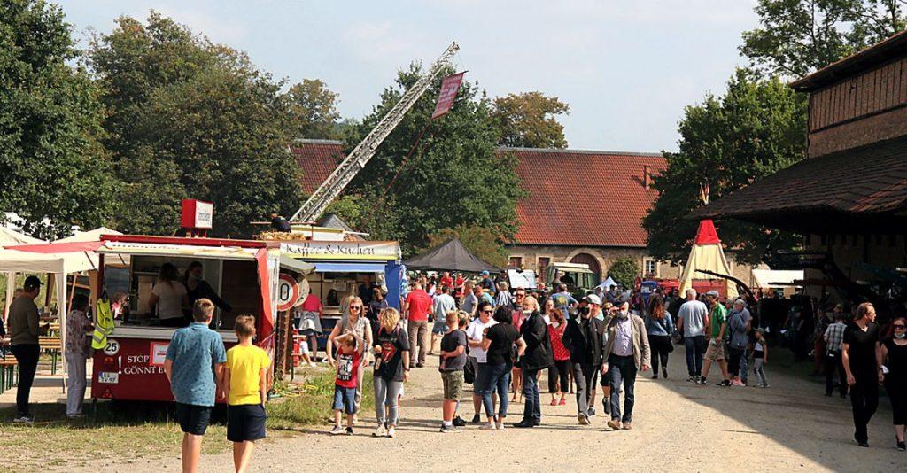 Hoffest - Wöltingerode unter Dampf