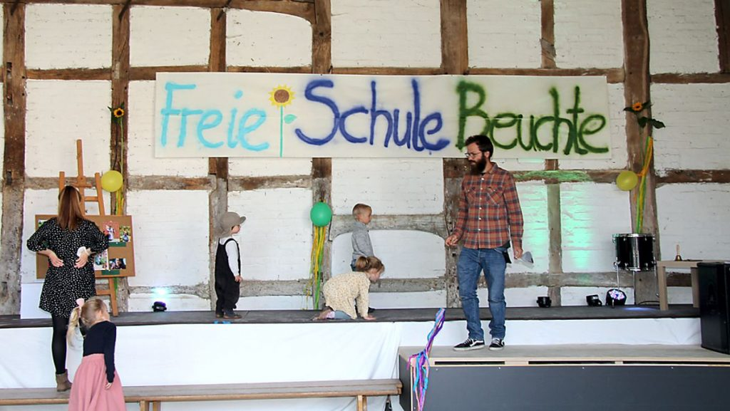 Einschulung Freie Schule
