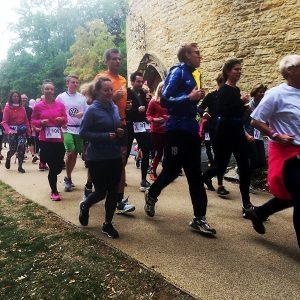 Anti-Brustkrebs-Lauf