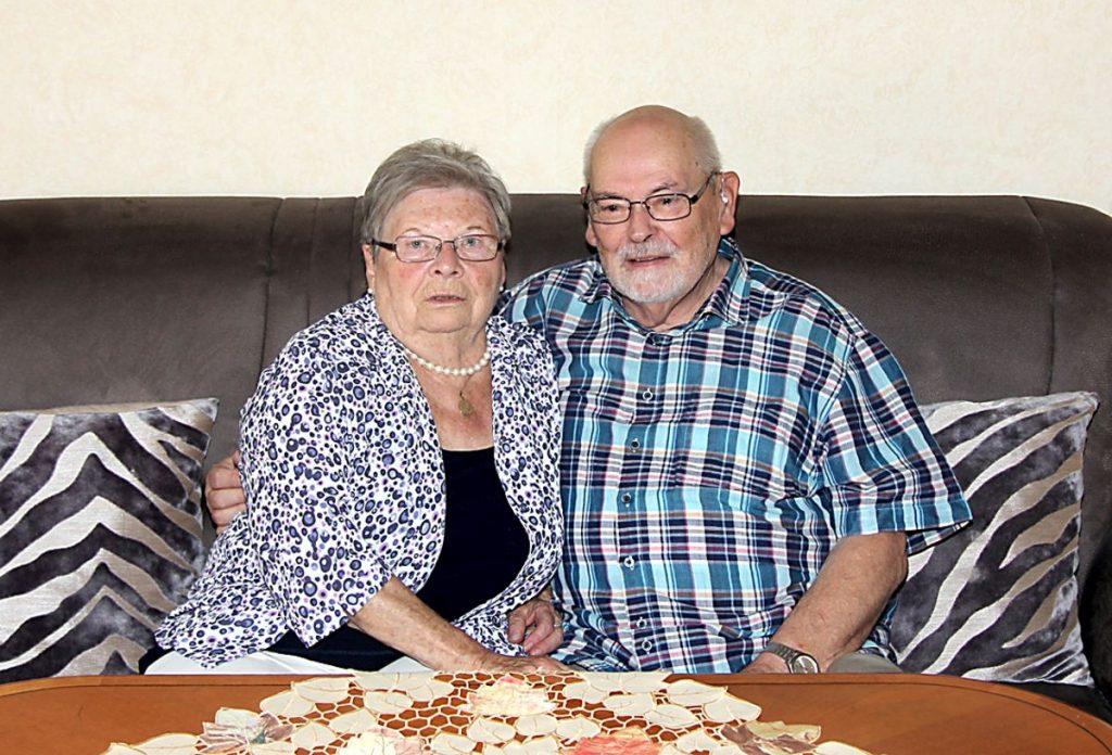 Diamantene Hochzeit - Ehepaar Plumenbohm