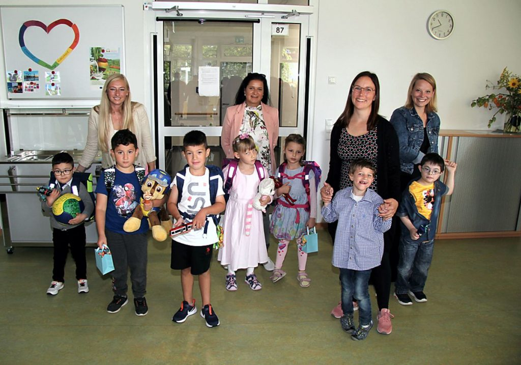 Einschulung 2021 Schule am Harly