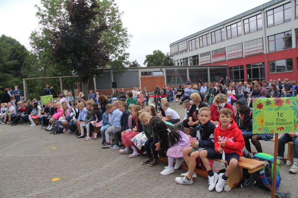 Einschulung 2021 Clemens-Schule